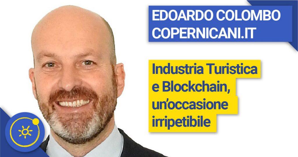 Edoardo Colombo - Industria Turistica e Blockchain